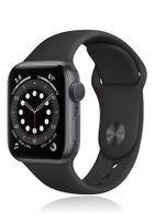 Apple Watch Series 6 GPS 44mm Gray Alu Case Black Sport Band