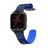 DS60 Touchscreen-Positionierung Wasserdicht Call Smart Watch fš¹r Kinder Student Blue
