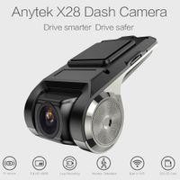 Anytek X28 Auto DVR Kamera 1080P FHD WiFi ADAS G-Sensor Videorecorder Dash Cam