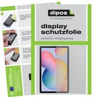 2x Samsung Galaxy Tab S6 Lite Schutzfolie matt Displayschutzfolie Folie Display