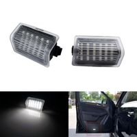 2x LED Türbeleuchtung Einstiegsbeleuchtung für Mercedes Benz W176 W204 W205 W212 X166 A0028201901, A0008202503