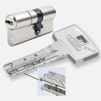 ABUS Bravus 3500 MX Magnet Doppelzylinder, Länge (a/b) 30/35mm (c=65mm), mit 5 Schlüssel, SKG*** , Angriffswiderstandsklasse D, RC2/RC3 Level geeignet, mit Not- u. Gefahrenfunktion