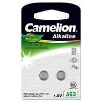 Camelion Knopfzelle LR41 2er Blister