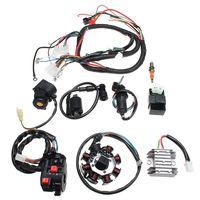 Elektro Kabelbaum CDI Gleichrichter Komplette Kabel für ATV QUAD CG125/200/250CC