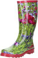 ConWay Damen Gummistiefel (Blumenwiese) mehrfarbig, Größe:36, Farbe:Mehrfarbig