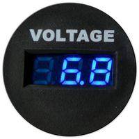 Digital Voltmeter mit Blauer Anzeige 6-33V
