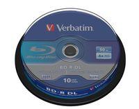 Verbatim BD-R DL Blu-ray Rohlinge 10er Spindel