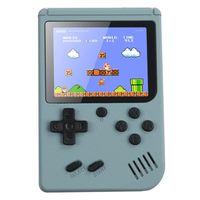 Handheld Retro Spielkonsole Videospielkonsole Gameboy Eingebaute 500 klassische Spiele Kindergeschenke Farbe:Grau