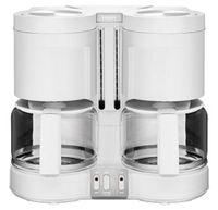 Krups KM 8501 Duothek PLUS Doppel-Filterkaffeemaschine, Kunststoffgehäuse, 2200 Watt, 2 Glaskannen, 20 Tassen, Aromawahl
