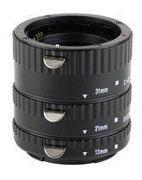 "Automatik Zwischenringe ""3-teilig 31mm, 21mm & 13mm"" fuer Makrofotographie passend zu Canon EF/EF-S EOS 40D, 30D, 20D"