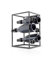 eva solo Weinwürfel Nordic Kitchen Weinregal für bis 6 Flaschen