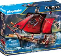 Playmobil 70411 Pirates Totenkopf-Kampfschiff