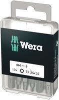 Wera 867/1 DIY TORX® Bits 10 x TX 25x25; 05072409001