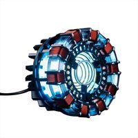 1:1 MK1 Arc Reactor Model LED Chest Light USB Powered Movie Props DE