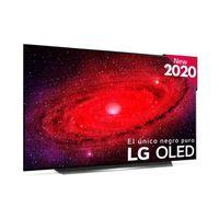 LG OLED65CX6LA.AEU, 165,1 cm (65 Zoll), 4K Ultra HD, OLED, Smart-TV, WLAN, Schwarz, Silber