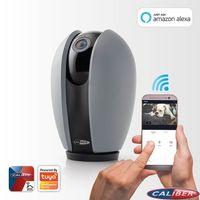 Caliber Smart Home App gesteuerte 2 MP 1080p HD WiFi Kamera HWC201PT, Tuya kompatibel