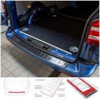 Edelstahl Ladekantenschutz Anthrazit für VW T6 T6.1 Multivan Cali