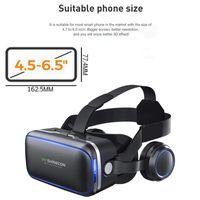 VR Shinecon 6.0 Standardversion und Headset Version Virtual Reality 3D VR Brille Helm optional Helm
