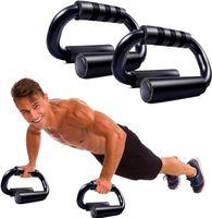 Liegestützgriffe,2er-Set Liegestütze Griff,Push-Up Bar,liegestützgriffe rutschfest,Schaumgriff, Liegestütze Griff handgelenksschonend und optimal für Krafttraining und Muskeltraining