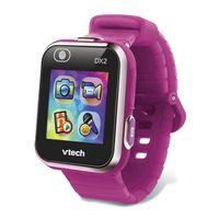 VTECH - Kidizoom Smartwatch Connect DX2 Himbeer - Foto- und Video-Uhr