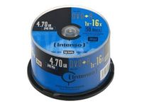 Intenso DVD+R 4,7 GB 16x Speed - 50stk Cake Box