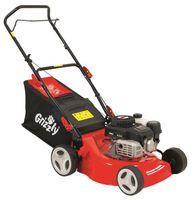 Grizzly Tools Benzin Rasenmäher BRM  4210-20 1,6 kW 2,1 PS 42 cm Schnittbreite 5 fach Höhenverstellung