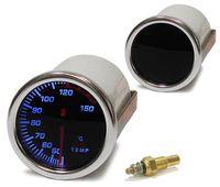 Öltemperatur Anzeige Zusatz Instrument Black Magic beleuchtet