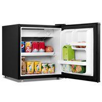 COSTWAY Mini Kühlschrank mit Gefrierfach Kühl-Gefrier-Kombination 46 L