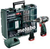 Metabo Akku Bohrschrauber PowerMaxx BS Basic 10,8V / 2Ah Set Aktion