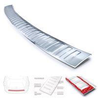 Ladekantenschutz mit Abkantung für Ford Kuga 3 ST-Line Edelstahl ab Bj. 2020-, Farbe:Silber