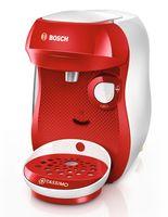 Bosch TASSIMO Happy + 20 EUR Gutscheine* Heißgetränkemaschine Kapseln, Farbe:Rot