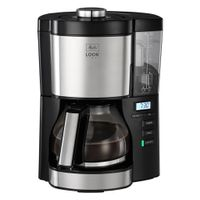 MELITTA 6766591 - Filterkaffeemaschine - Gemahlener Kaffee - 1080 W - Schwarz - Silber MELITTA