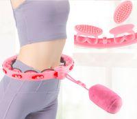 Smart Hula Hoop Einstellbar Fitness Bauchtrainer Gymnastikreifen Anzug für 70-110cm Taille