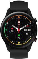 Xiaomi Mi Watch, Schwarz, Thermoplastische Polyurethane (TPU), Schwarz, 5 ATM, AMOLED, 454 x 454 Pixel