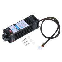 10W Lasermodul Laserkopf 450nm Blue Lase fuer Lasergravurmaschine Holzmarkierungs-Schneidwerkzeug