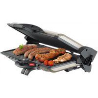 Steba PG 4.4 EC inkl. Burger-Presse Kontaktgrill Barbecue-Grill champagner-metallic