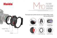 M10 Filterhalter Kit mit Adapterring 55 mm für Serie 100 Filter