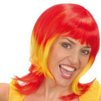 Perücke wig Frau Damen Spain Spanien Wig Parrucca España nazionale