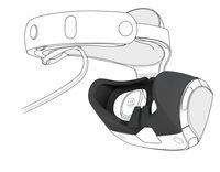 SPEEDLINK GUARD Soft Skin - Silikonüberzug für PS VR, Schwarz