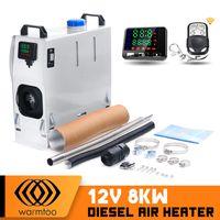 8KW 12V Diesel Standheizung Einfach Integration Luftheizung Heizung Warmtoo + CE Weiss