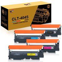 Lebenspiel CLT-404S  4-Pack Druckerpatronen Kompatibel für Samsung Xpress C480 Samsung C480W Samsung SL C480 C480W SL C480FW SL C480FN C430 C430W  mit Toner CLT-K404S CLT-C404S CLT-M404S CLT-Y404S