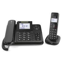 Doro Comfort 4005 Analog/DECT telephone Anrufer-Identifikation Schwarz - Plug-Type C (EU)