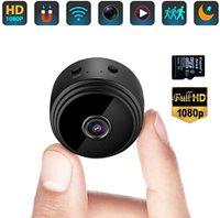 Mini-Kamera , tragbare kleine kabellose Full HD 1080P-Überwachungskamera, Mini-Nanny-Kamera,