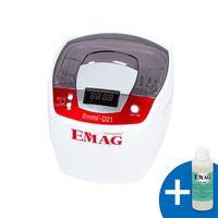Emmi®- D21 Ultraschallreiniger mit Edelstahlwanne für Brillen, Schmuck, Werkzeuge etc.