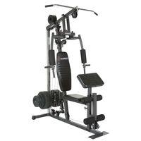HAMMER Kraftstation California XP, Multifunktions Gym, Fitnessstation, zahlreiche Übungsvarianten, Widerstand bis 120kg