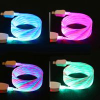 LED-USB-Typ-C-Sync-Ladekabel Für Leuchtendes Ladekabel