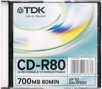 TDK CD-R80 Daten-CD-R, 700 MB, 80 min