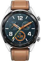 Huawei Watch GT Classic Edition GPS Smartwatch Uhr silber braun -