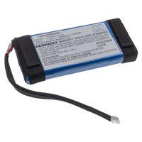 vhbw Akku kompatibel mit JBL Boombox, JEM3316, JEM3317, JEM3318 Lautsprecher Boxen Speaker (10000mAh, 7,4V, Li-Polymer)