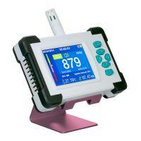 KKmoon CO2-Messgerät Kohlendioxid Detektor mit Akku CO2 Meter Tester für Luftqualitäts Detektor Monitor mit Aufbewahrungskoffer PDF Version Weiß
